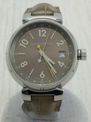 クォーツ腕時計/アナログ/レザー/CML