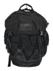20AW/ユーティリティ4ポケットパック/リュック/ナイロン/黒/バックパック