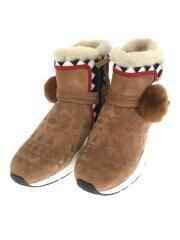 Mongolia/ブーツ/36/ブラウン/スウェード