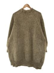 セーター(厚手)/L/ウール/クリーム