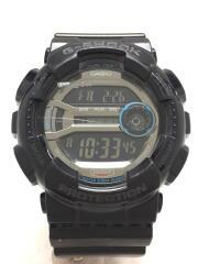 クォーツ腕時計・G-SHOCK/デジタル/ラバー/BLK/BLK/GD-110-1JF