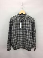 ジャケット/3/コットン/マルチカラー/チェック/グレー×ブラック×ブラウン/日本製