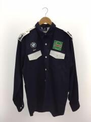 BMW/長袖シャツ/XL/コットン/NVY/WilliamsF1 team/タイ製