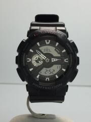 クォーツ腕時計・G-SHOCK/デジアナ/ラバー/BLK/BLK/GA-110RG-1AJF