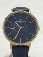 クォーツ腕時計/アナログ/NVY/NVY/SM-15117-9