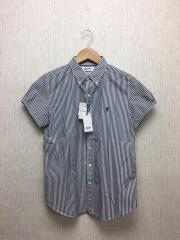 19SS/シャツ/14/コットン/BLU/ストライプ/19S-WS-002/日本製