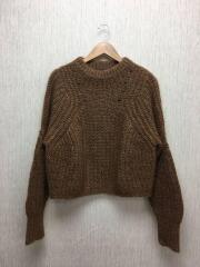 セーター(厚手)/36/ウール/BRW/78-02-44-02003/イタリア製