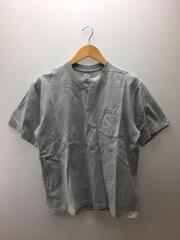 20SS/Tシャツ/42/コットン/GRY/無地/20S-HS-001
