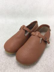 キッズ靴/--/革靴/レザー/BRW