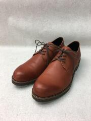 DERBY PLAIN TOE SHOES WATER/ウォータープルーフダービープレーントゥ/40/牛革