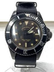 VWC BLK SUB/クォーツ腕時計/アナログ