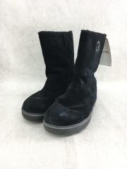 ブーツ/22.5cm/ブラック/スウェード/スノーブーツ/NL1975-011/グレイシー