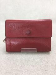 財布/レザー/RED/無地/イルビゾンテ