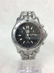 S39.306/プロフェッショナル200/クロノグラフ/クォーツ腕時計/ステンレス/ブラック/シルバー/ダイバーズ PROFESSIONAL