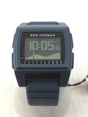 クォーツ腕時計/デジタル/BASE TIDE PRO