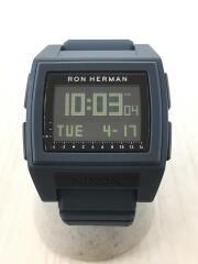 クォーツ腕時計/デジタル/A1252 3190-00/×Ron Herman/THE BASE TIDE P