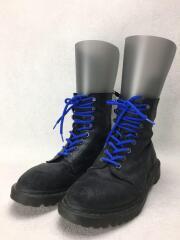 ブーツ/US9/BLK/スウェード