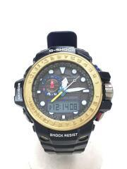 ソーラー腕時計・G-SHOCK/デジアナ/NVY/電波 トリプルセンサー GULFMASTER Triple Sensor ガルフマスター  GWN-1000F-2AJF