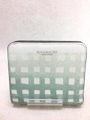 2つ折り財布/PVC/マルチカラー/総柄/レディース