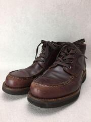 ブーツ/27.5cm/BRW/レザー