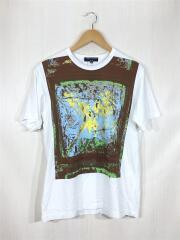 Tシャツ/M/コットン/WHT/HA-T029