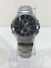 クォーツ腕時計・EDIFICE/アナログ/SLV/EFA-116D-1A1JF
