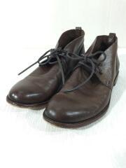 ブーツ/25cm/BRW/レザー