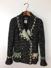 Wool Blazer in Black/38/ウール/ブラック/B3756