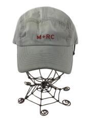 ワークキャップ/帽子/キャップ/ナイロン/ロゴ/グレー/灰色