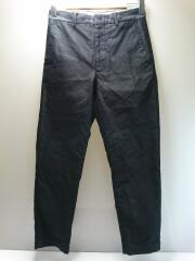 ボトム/1/コットン/BLK/無地/07-SP-001/trousers1.0/ベーシック