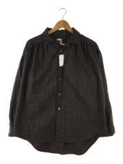 長袖シャツ/M/ウール/BRW/チェック/19AW/2019年モデル/LSシャツ/USA製/アメリカ製