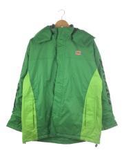 ナイロンジャケット/LL/ナイロン/グリーン/緑/ライムグリーン/リップストップ