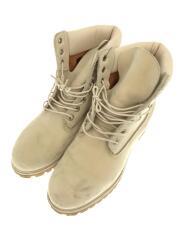 ブーツ/プレミアムブーツ/41018/レースアップブーツ/スエード/つま先汚れ有
