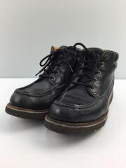 90s/ブーツ/91052/US8/ブラック/レザー