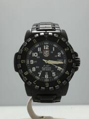 クォーツ腕時計/Nighthawk 200M//アナログ/ステンレス/ブラック/ブラック/状態考慮