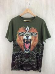 16SS/ライオン/Tシャツ/S/コットン/GRN