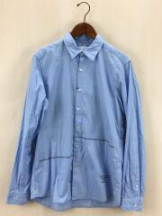 PHILOSOPHY REGULAR COLLAR SHIRT/UE-189012/長袖シャツ/2/コットン/BLU