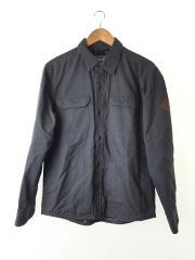 2Pワークシャツ/CPO/長袖シャツ/S/コットン/GRY