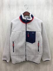 フリースジャケット/XL/ポリエステル/BEG/レトロXフリースジャケット/18年
