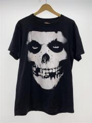 MisFits/ROCK Yeah/skull/バンドTシャツ/バックロゴ/コットン/BLK