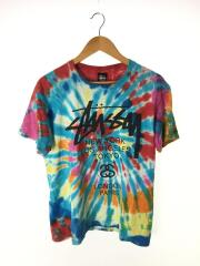 Tシャツ/New World Tour Swirl/M/コットン/マルチカラー/総柄