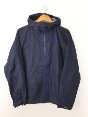 プラズミックジャケット/OM5354/ロゴ刺繍/マウンテンパーカ/S/ナイロン/NVY