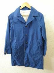 Sakura Coat/サクラコート/E-13100/コットンホースクロス/ステンカラーコート/XS/コットン/BLU