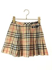 スカート/130cm/ウール/BEG