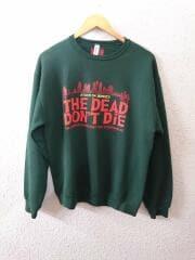 20AW/JIM JARMUSCH/SWEAT SHIRT/THE DEAD DONT DiE/スウェット/M/コットン
