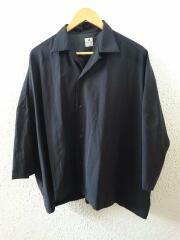 18SS/SUPER BIG H/S SHIRTS/18SS-SY5-001/半袖シャツ/M/ウール/BLK