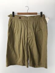 17SS/Riviera Short Pants/32/コットン/BRW