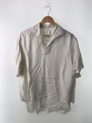 半袖シャツ/2/--/WHT/ストライプ