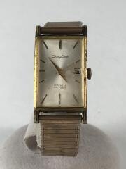 手巻腕時計/DD7023/DAISY DATE/アナログ/ステンレス/GLD