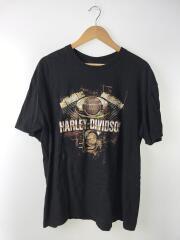 Tシャツ/XL/コットン/BLK